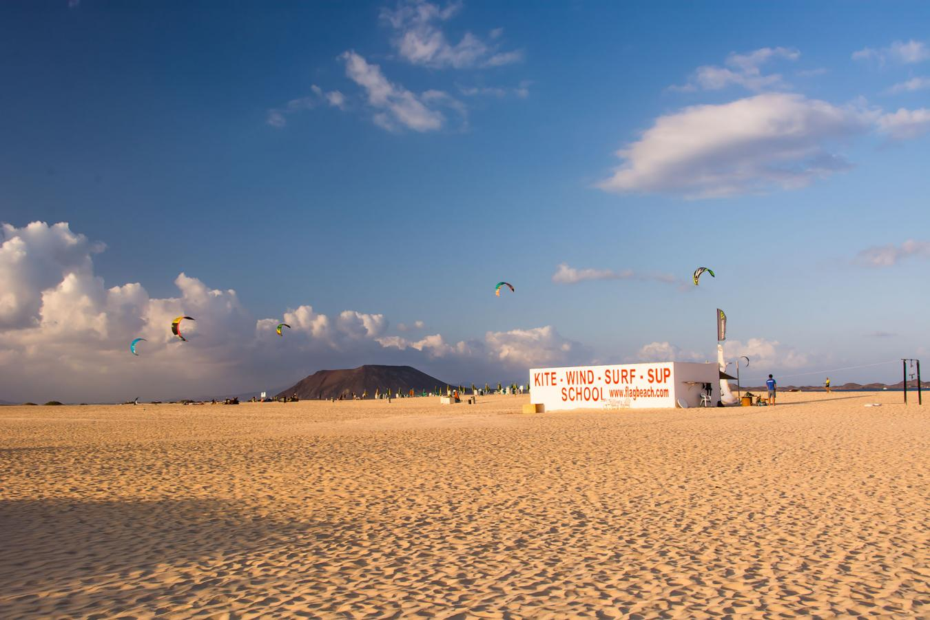 Fuerteventura. Flag Beach