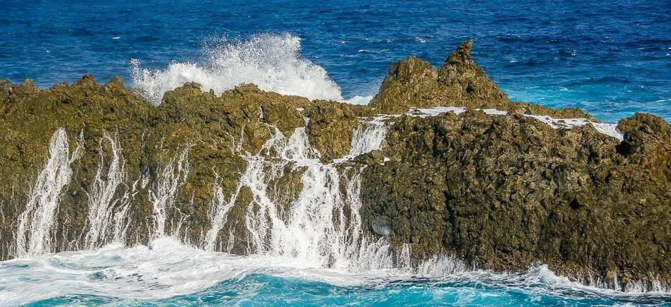Charco del Viento. Natural pools of Tenerife